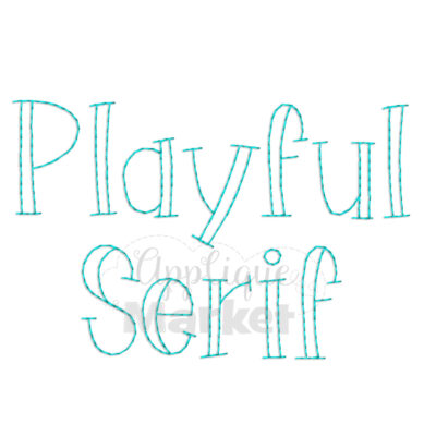 Playful Serif Vintage 2