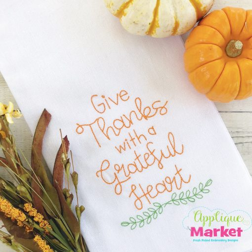 give thanks vintage
