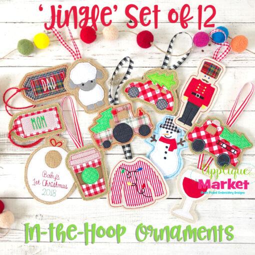 Jingle Set ITH Ornaments
