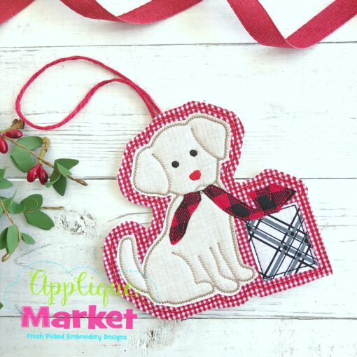 Puppy Gift ITH Ornament