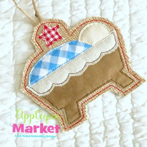 In the Hoop Manger Ornament