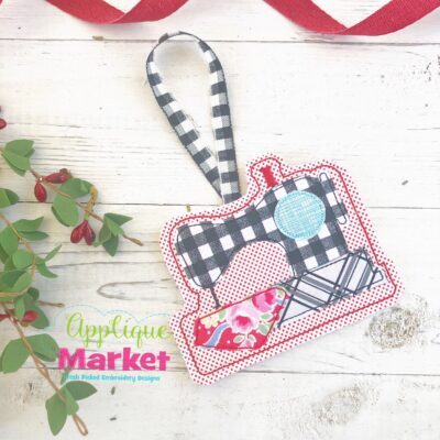 Sewing Machine ITH Ornament