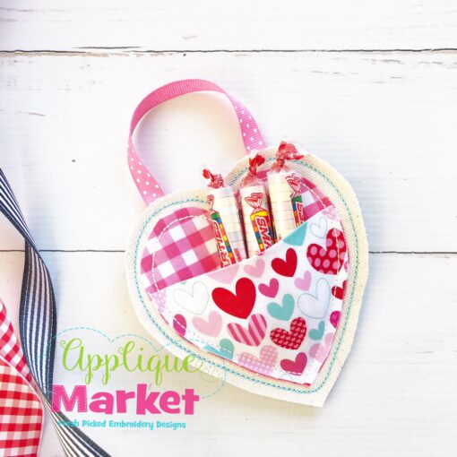 ITH Simple Heart Pocket Ornament