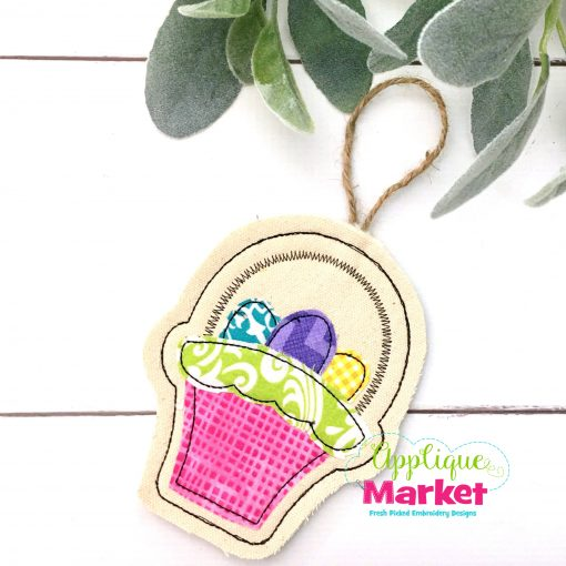 In the Hoop Easter Basket Ornament