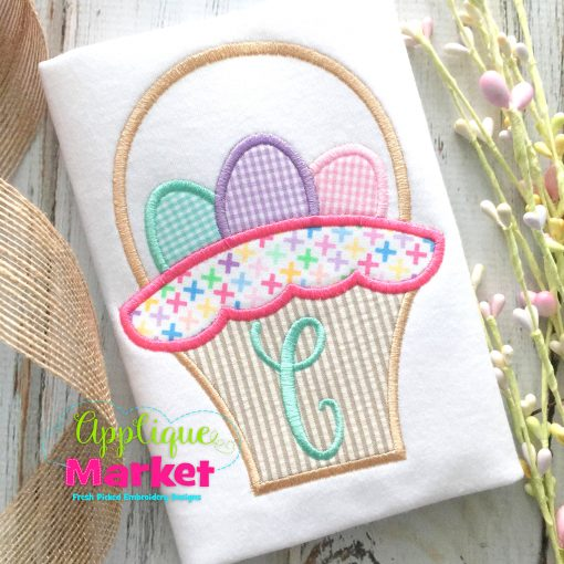 Basket Scallop Applique