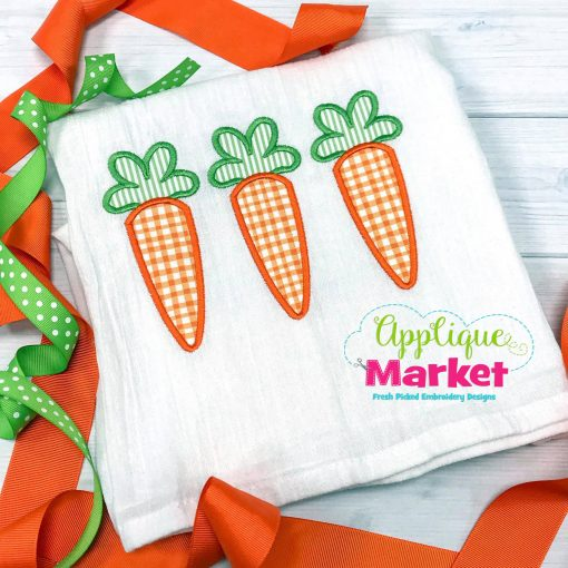 Carrot Trio Applique
