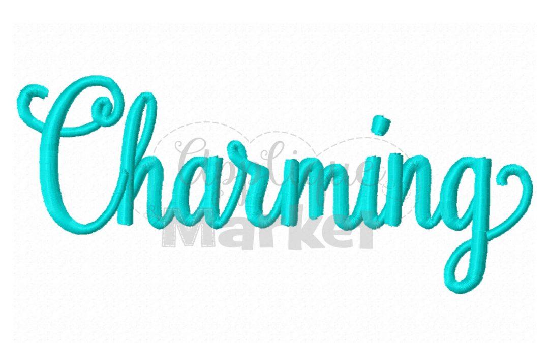 Charming Regular Alphabet