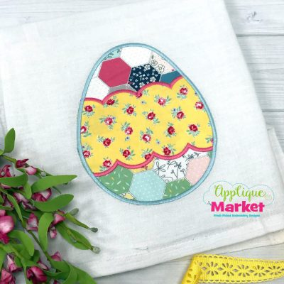 Egg Scallop Band Applique