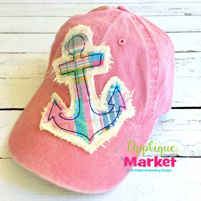 Anchor Hat Patch Applique