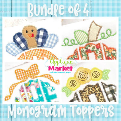 Monogram Topper Bundle