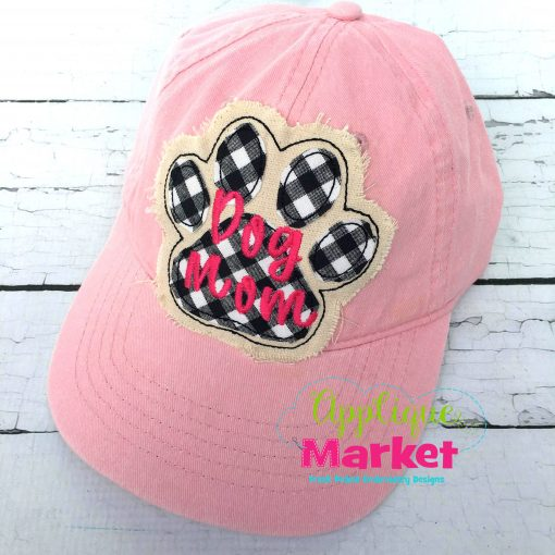 Paw Hat Patch Applique