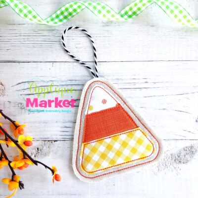 ITH Halloween Ornament Candy Corn