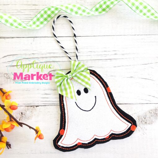 ITH Halloween Ornament Ghost