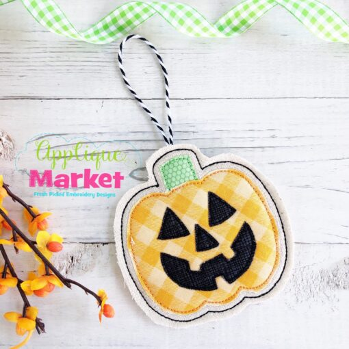 ITH Halloween Ornament Jack O Lantern