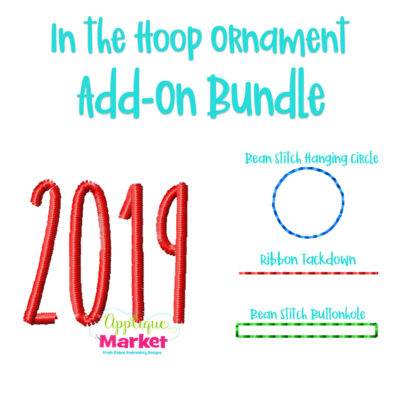 2019 Ornament Add On Bundle