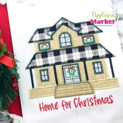 Christmas Farmhouse Zig Zag Towel