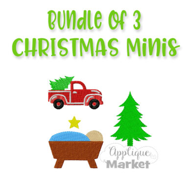 Christmas Mini Bundle Embroidery Designs