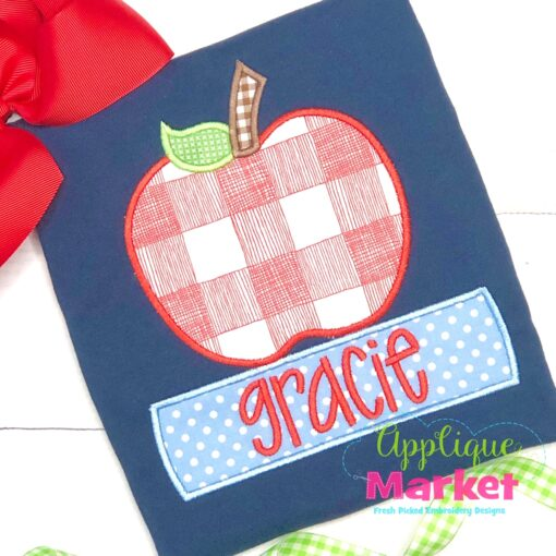 Apple Books Satin Applique