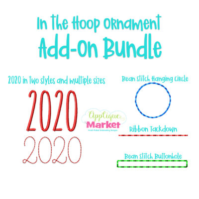 2020 Ornament Add On Bundle